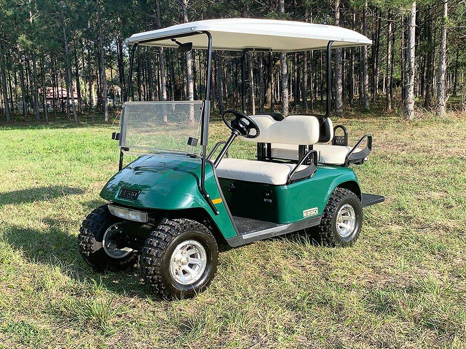 EZGO TXT Golf Cart