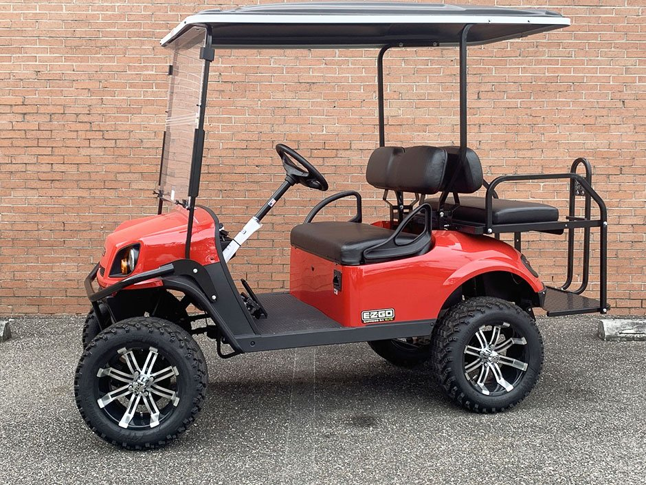 EZGO Express S4 Elite Golf Cart