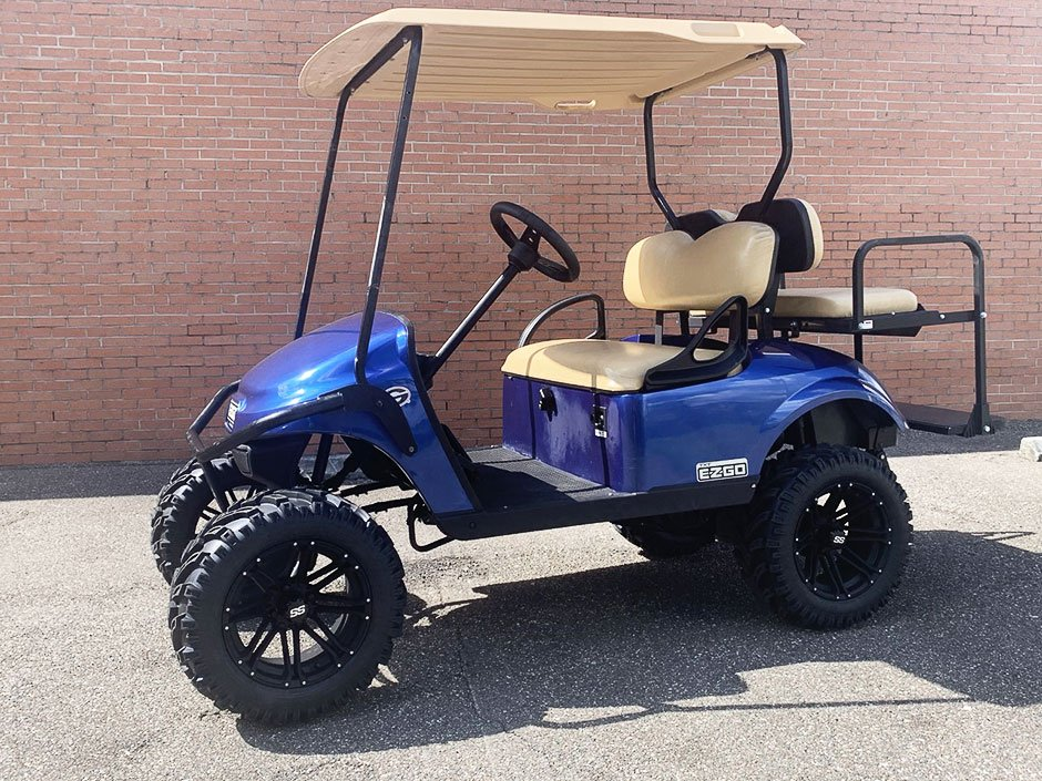 Budget Golf Carts Yulee Florida 2016 EZGO TXT GAS Golf Cart