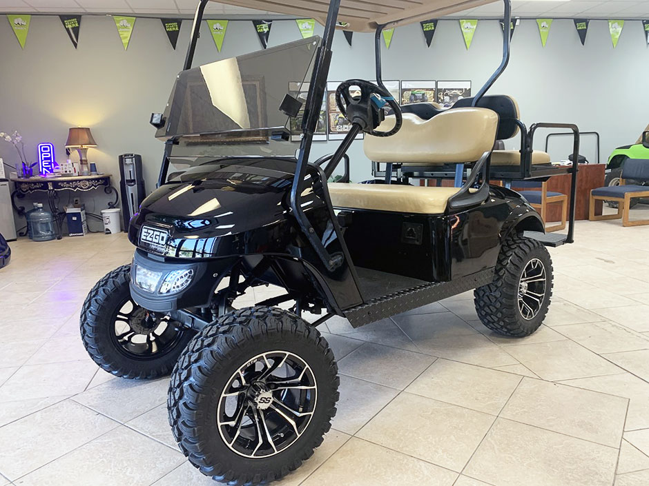 EZGO TXT Electric Golf Cart